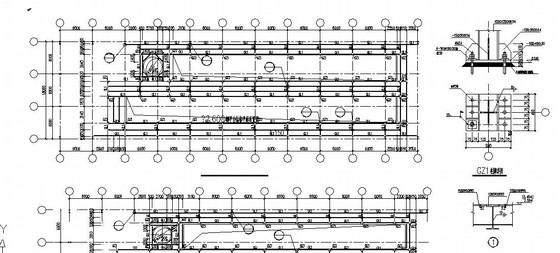 带吊车门式钢架结构单层厂房施工图(全套)