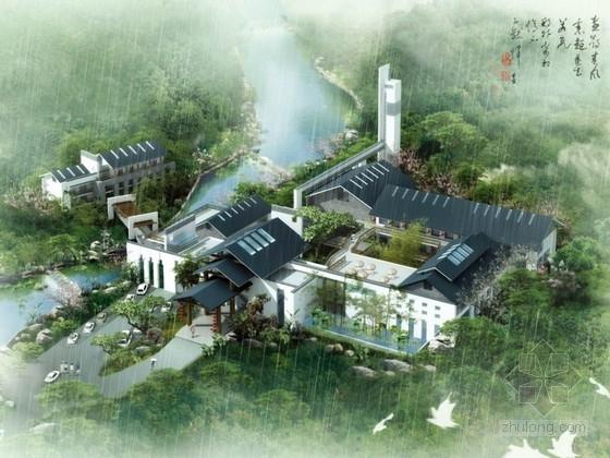 [南京]某接待中心建筑设计方案文本