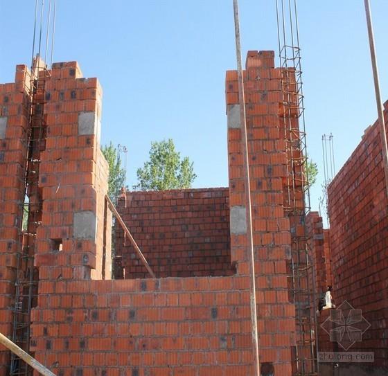 住宅小区砖混砌体施工工艺标准化(图文并茂)