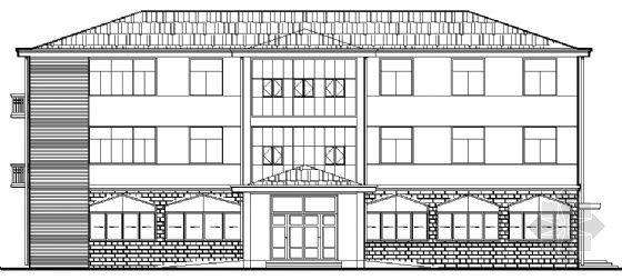 某三层办公楼建筑结构施工图