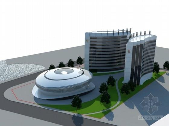 [江西]某城市规划展览馆建筑设计方案文本