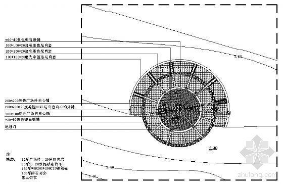 广场(三)平面图