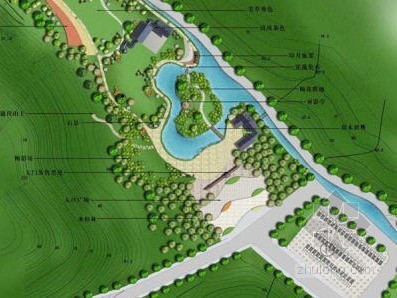 [山东]济南生态运动主题公园景观设计方案