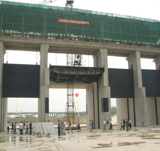 [浙江]渔业避风锚地基坑开挖及上部结构工程施工组织设计(海堤 船闸 深海基坑)