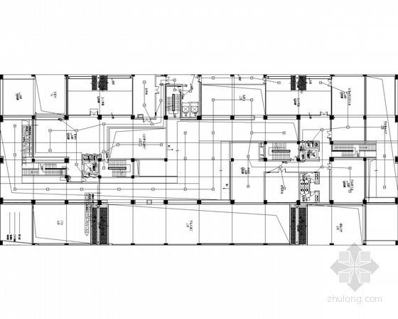 [四川]2014年最新旅游安全应急救援中心强弱电电气图73张(甲级设计院)