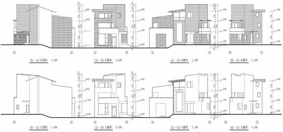 [立面改造]西班牙建筑风格别墅住宅小区立面改造方案文本-缩略图