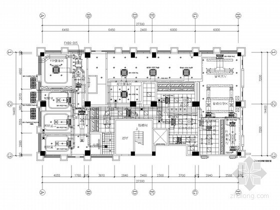 多联分体空调施工资料下载-[广东]公共建筑多联空调及通风系统设计施工图