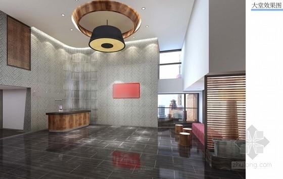 [上海]某知名地产办公室室内设计方案图