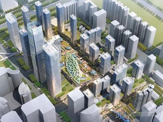 [深圳]大型商业区规划及单体设计方案文本