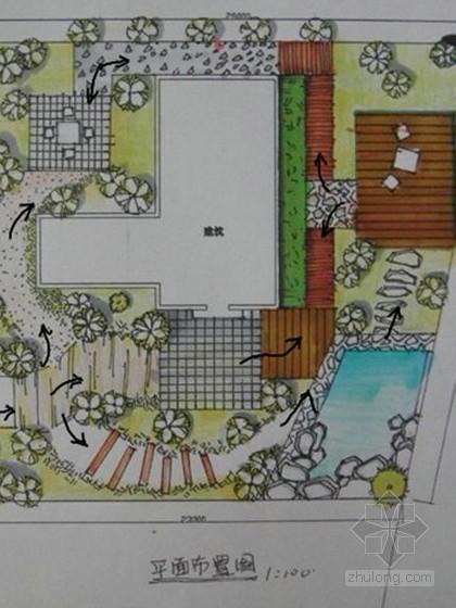 工作室庭院景观设计方案
