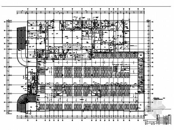 [广东]高档现代会议中心施工图(含效果图)