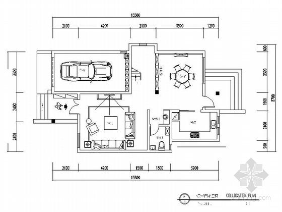 精品高级简约欧式风格三层别墅装修室内设计施工图(含效果)