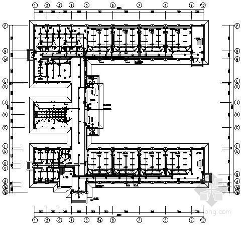 小学两层教学综合楼电气施工图纸