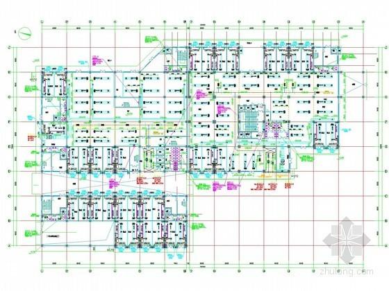 [山西]高层商业综合体空调通风及防排烟系统设计施工图(节能设计)