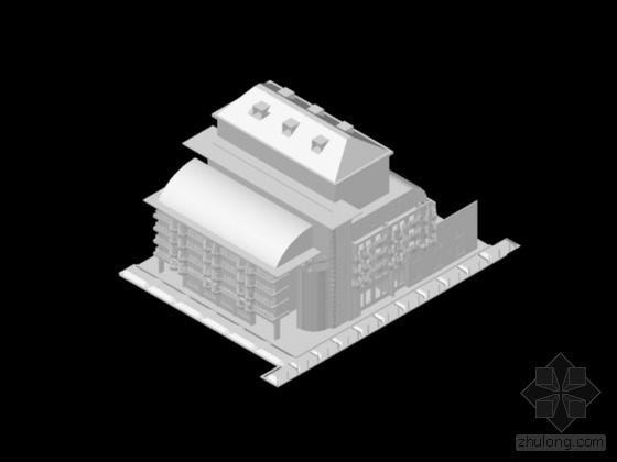 7款建筑dwg模型