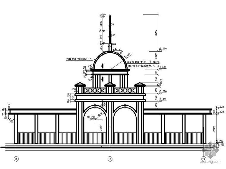 [图集]建筑细部构造cad精选图集-屋顶常用做法