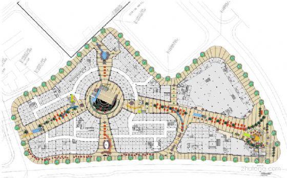 [江苏]综合商铺环境景观深化设计方案
