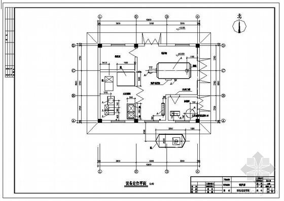 2t燃油锅炉房图