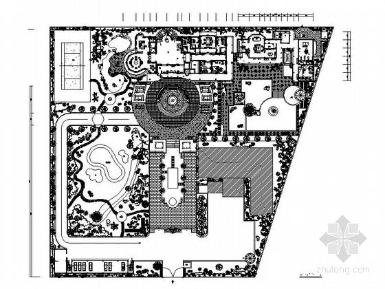 [缅甸]原创私人豪宅三层别墅室内装修施工图(含效果)