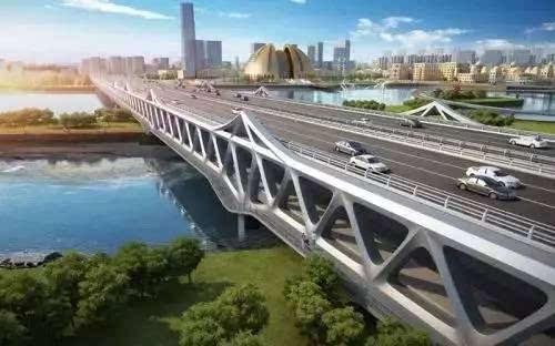 新疆首座双层钢桁架桥——头屯河景观大桥将于10月13日试通车