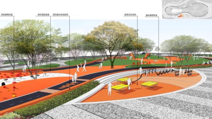 [山西]童趣乐园休闲互动式商业街景观规划设计方案