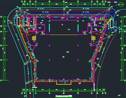 [广东]新建2层体育馆(钢结构)建筑安装工程预算书(含图纸)_4