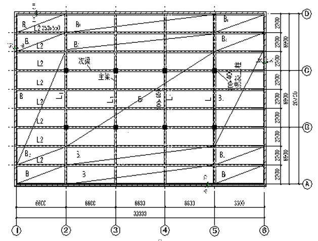 整体式肋梁楼盖设计计算书