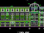 盐城中茵海华广场12#楼建筑施工图