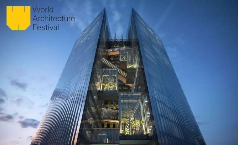 """Aedas设计""""台中之钻""""赢得世界建筑节大奖"""
