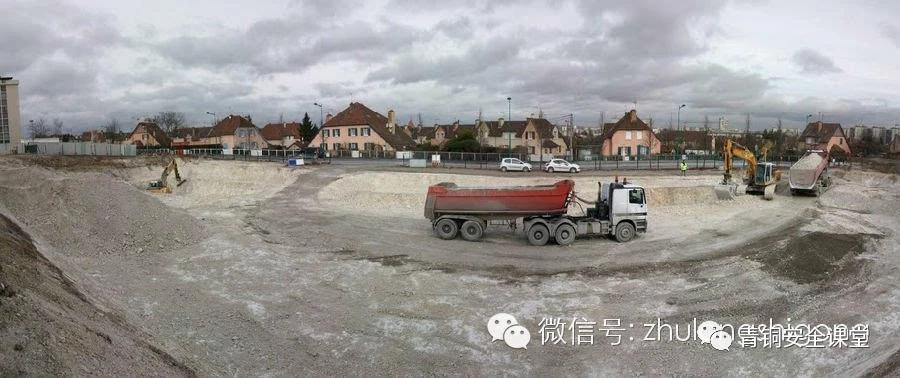 从准备到完工,看看法国建筑工地现场怎么样?_3