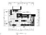 60平米现代服装店设计施工图(附效果图)