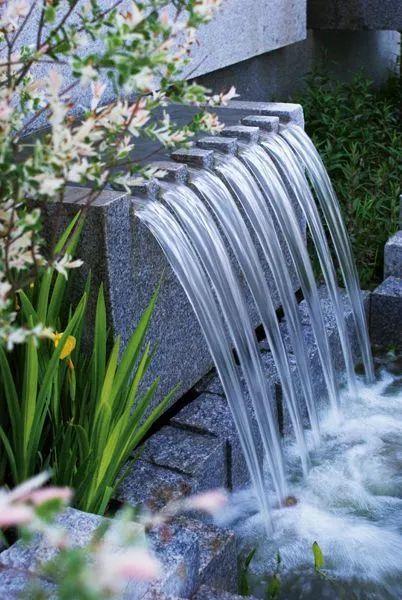 水景中的出水口设计,完美!