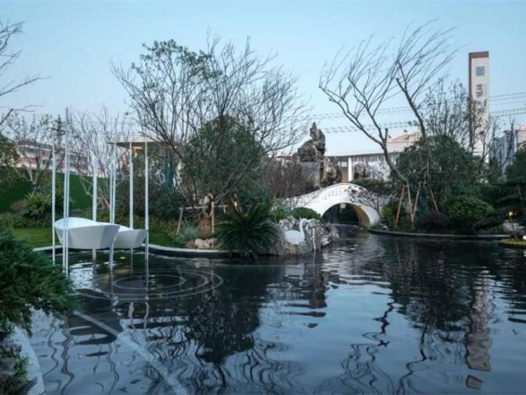 无锡龙湖天璞示范区景观