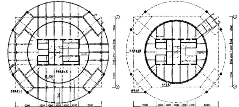 超限高层顶部大空间网架屋盖设计