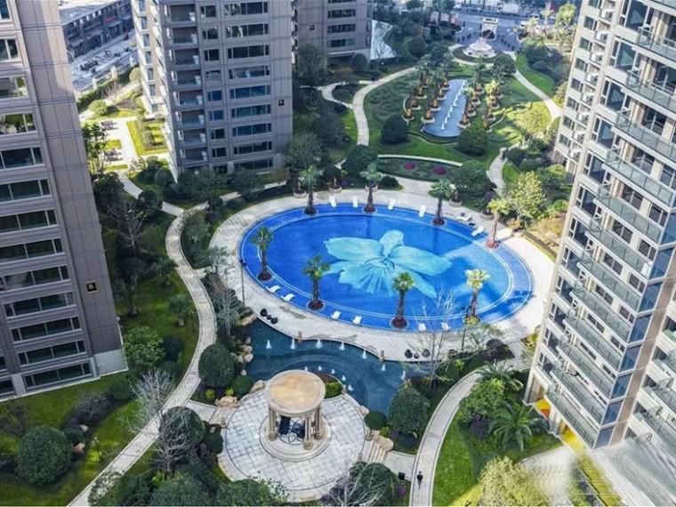 杭州锦绣之城住宅景观
