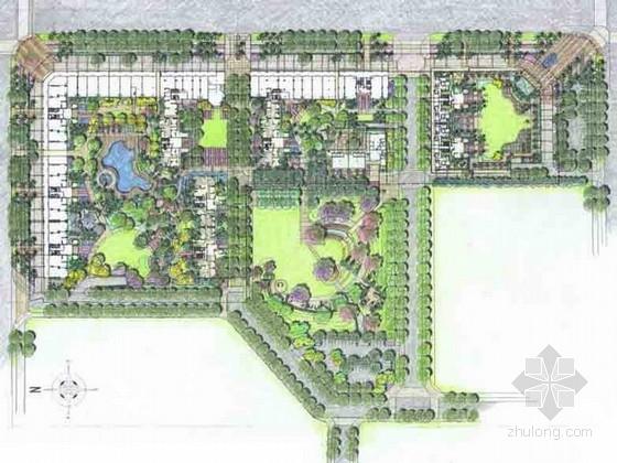 [深圳]生态宜居型住宅小区景观规划设计方案