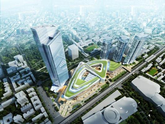 武汉恒隆广场总造价150亿,将成武汉地标性建筑!