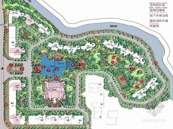 [江西]英国皇家自然画意式风格住宅区规划设计方案(分析为主)