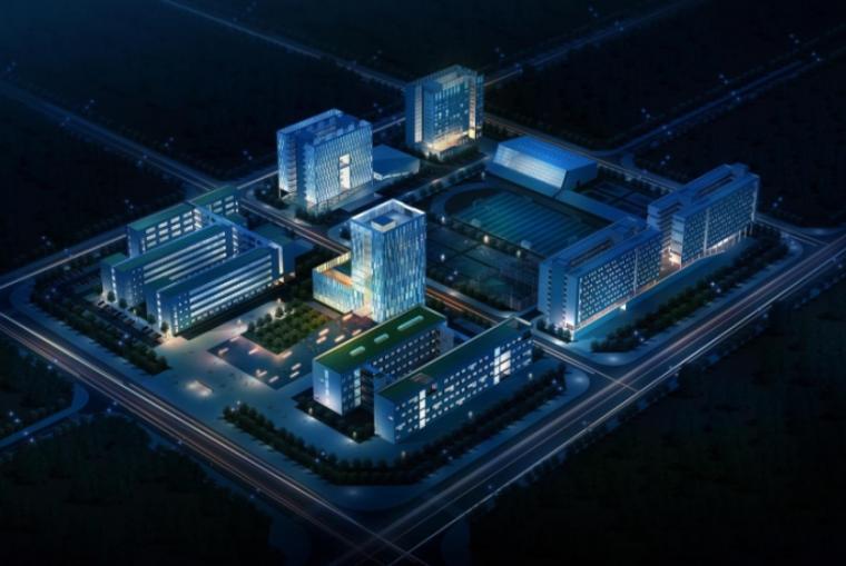 [深圳]现代校园规划及建筑设计方案文本