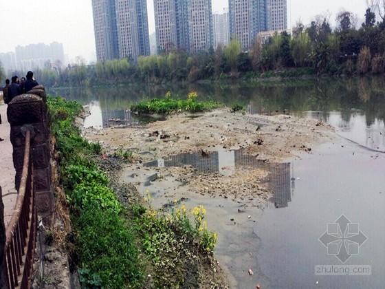 [四川]老城区河道清淤专项施工方案(2014年 附实景图)