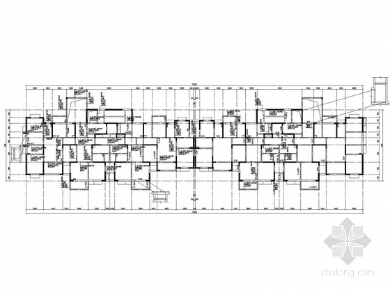 26层剪力墙住宅结构施工图(两栋含PKPM计算文件)