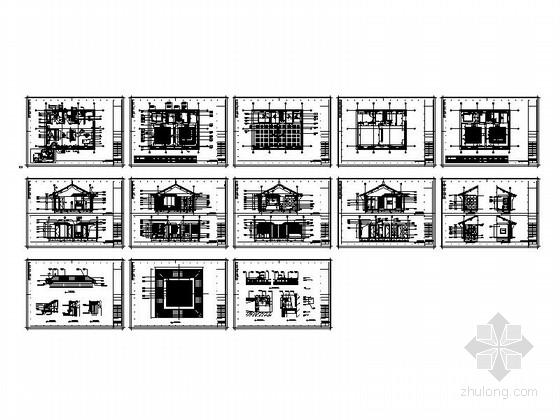 特色中式会所套房室内装修总缩略图
