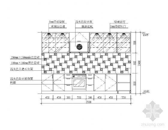 厨房立面设计图集