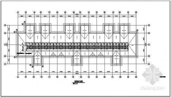 某住宅楼屋面平改坡(钢结构部分)结构施工图