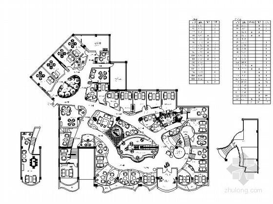 [四川]欧式风咖啡馆设计施工图(含实景)