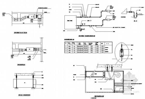 某中学体育馆多联机空调设计图