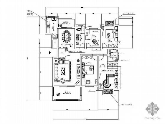 四室两厅设计图