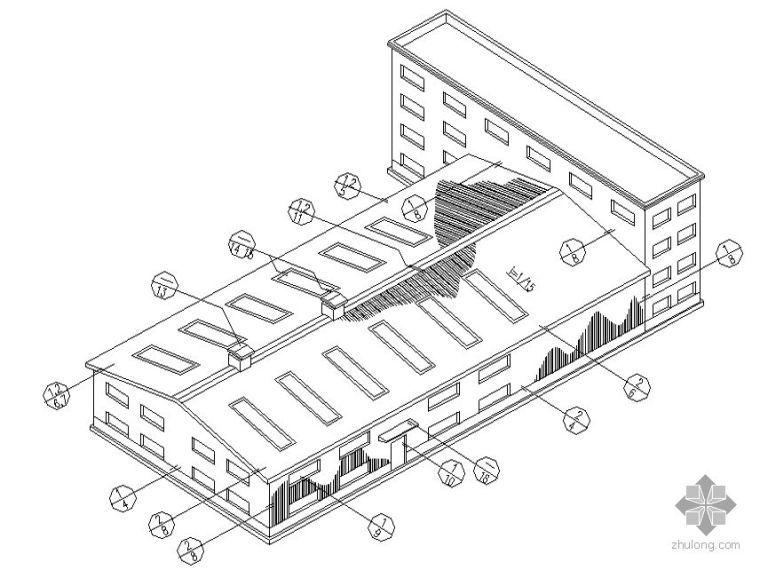 [图集]轻钢房屋建筑彩板安装图集