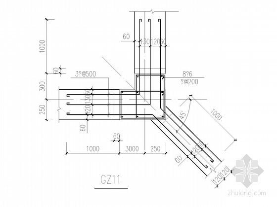 常用砌体结构构造柱节点构造详图