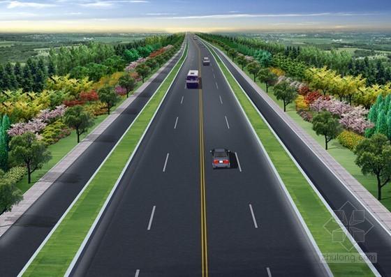 [山东]道路绿化及交通标线工程预算书